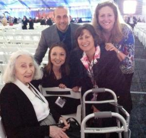 JFCS staff and holocaust survivors from South Jersey attended the 20th Anniversary of the US Holocaust Museum this week.
