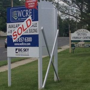 sold sign for new property