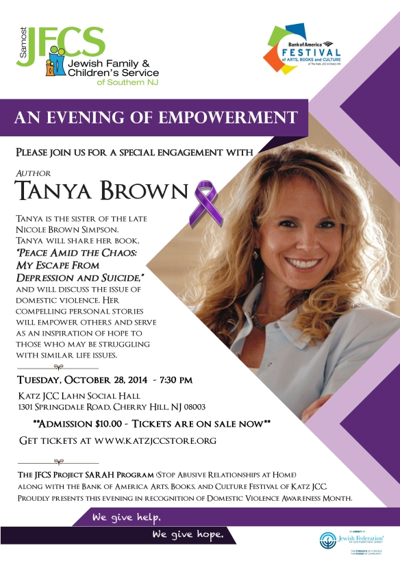 Tanya Brown Flyer CS5