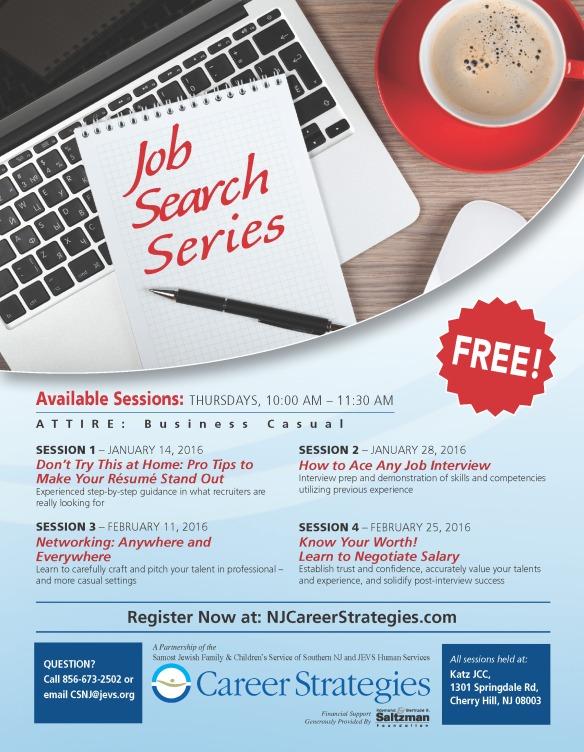 2015 job search CS South Jersey flyer