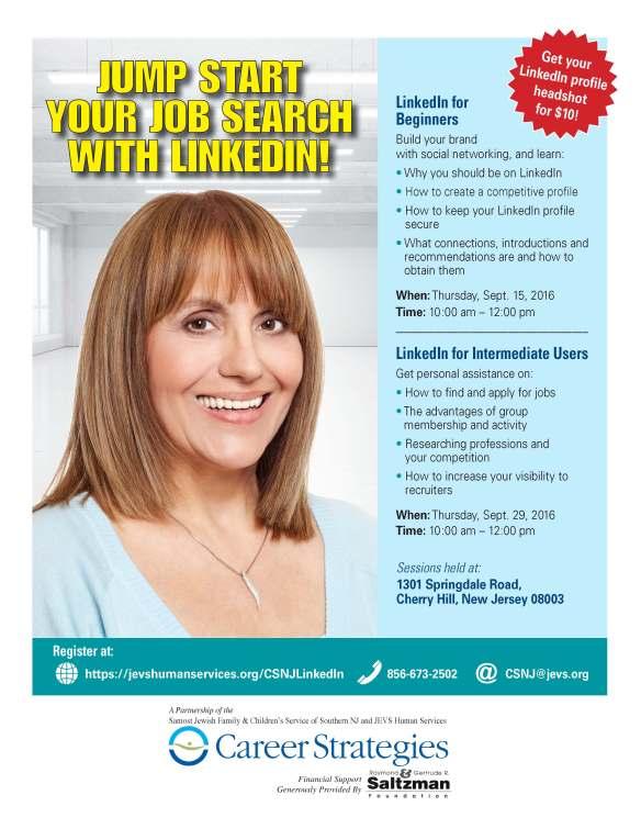 2016 CS South Jersey LinkedIn flyer