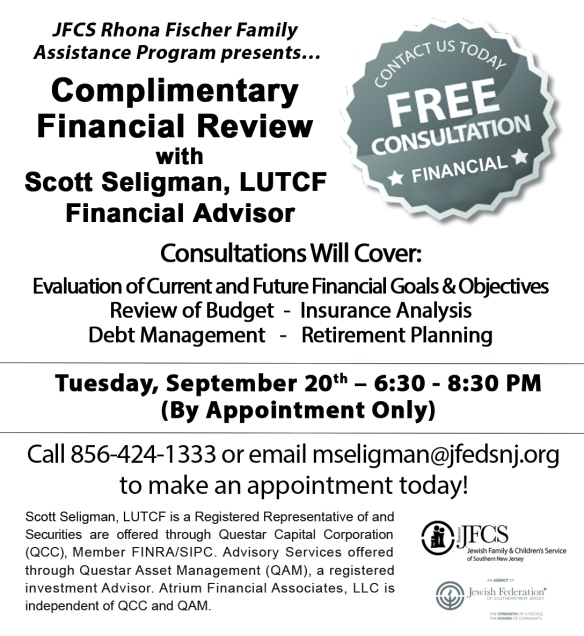 FREE FINANCIAL CONSULTATION voice ad 8.3.16