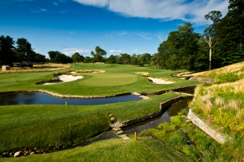 The Ninth Hole of the Merion Golf Club in Ardmore, Pa. as seen on Wednesday, June 27, 2012. (Copyright USGA/John Mummert)