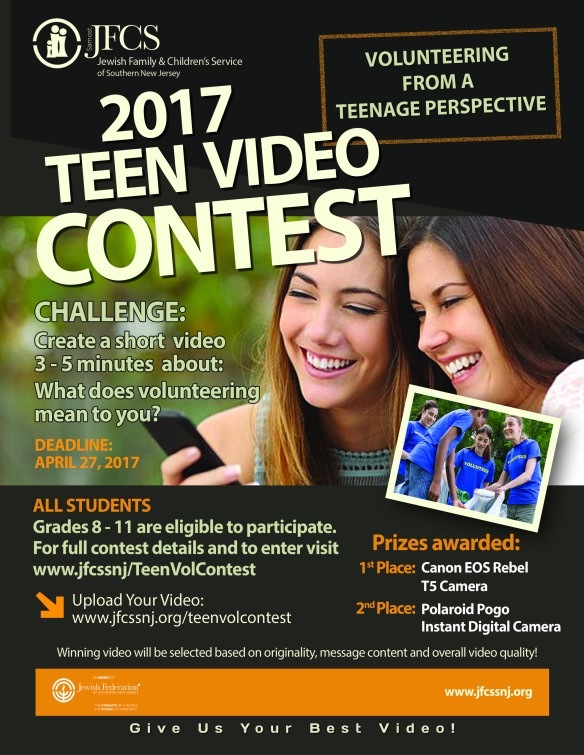 Video Contest Flyer 3.29.17